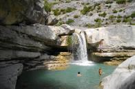 Gorges de La Meouge 44 kms